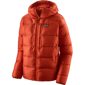 Patagonia Fitz Roy Down Hoody Men, hot ember